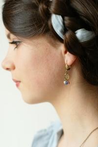 boucles d'oreilles mode