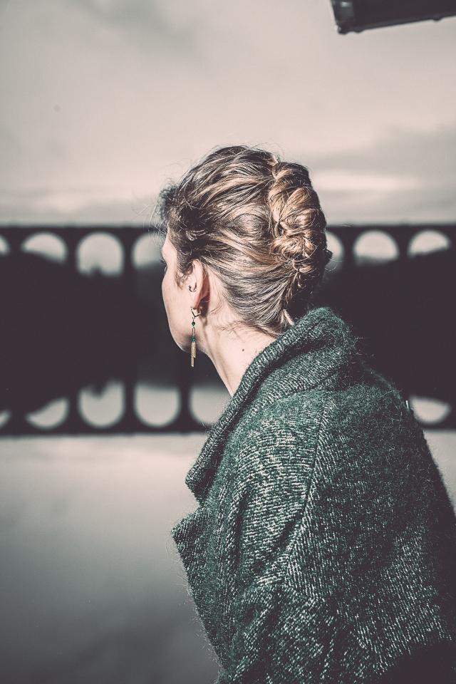 boucles d'oreilles émeraude