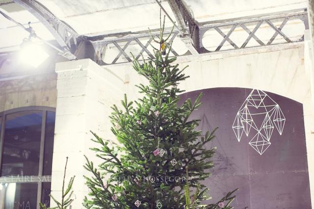 sapin de Noël au christmas market