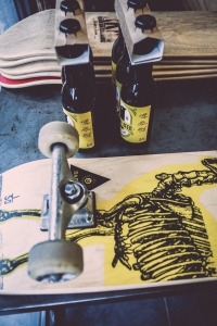 skate and beer