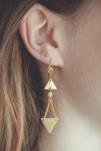 boucles d'oreilles flèches
