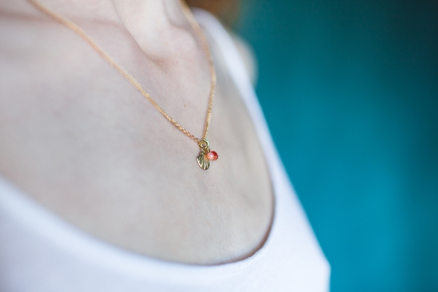 collier coquille corail-7