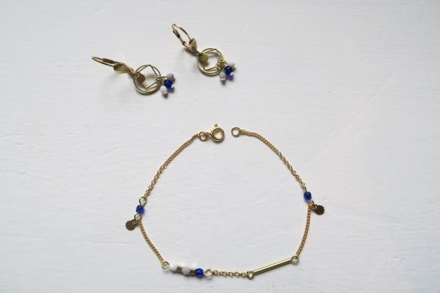 bijoux bleu blanc gris-13